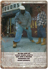 "1995 Biggie Smalls, Notorious B.I.G., Bad Boy 10"" x 7"" reproduction metal sign"