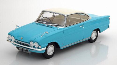 1:18 BoS Ford Consul Capri 116E GT 1963 turquoise//white