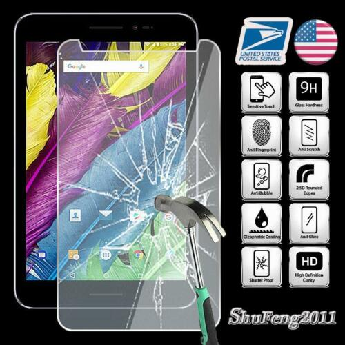 """Tablet Tempered Glass Screen Protector Cover For ZTE Grand X View 2 8/"""""""