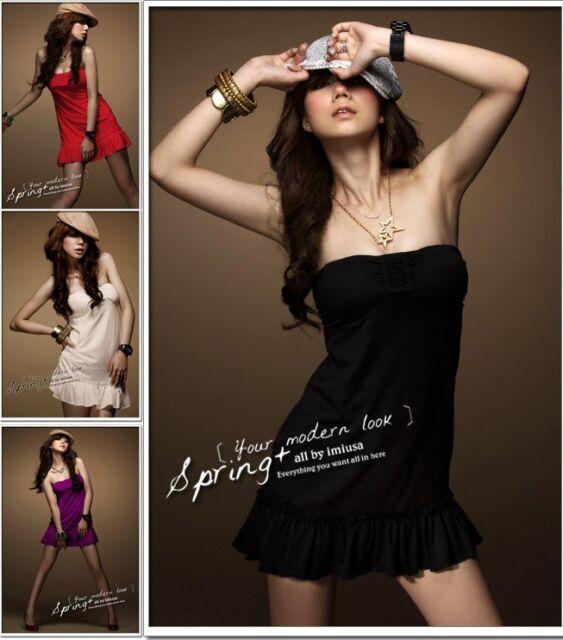 Neu Sexy Damen Cocktail BallKleid Minikleid Abendkleid Partykleid Sommer Kleider