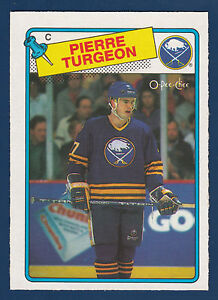 PIERRE-TURGEON-ROOKIE-RC-88-89-O-PEE-CHEE-1988-89-NO-194-NRMINT
