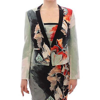 NWT $600 SACHIN & BABI Dress Jacket Short Floral Coat Blazer IT38/US4/EU34/XS