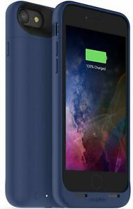 mophie Juice Pack Air 2525mAh Battery Charge Case for iPhone 8 & iPhone 7 - Blue