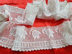 Bas-d-039-aube-surplis-de-pretre-en-dentelle-au-crochet-d-039-art-Ref-12199