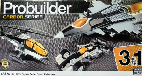 Collection Ici Mega Bloks-carbone Series-probuilder 3215 - 3 En 1 Collection-neuf Rare Jouet