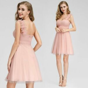 Ever-Pretty-One-Shoulder-Knee-Length-Bridesmaid-Dresses-Cocktail-Ball-Gown-03093