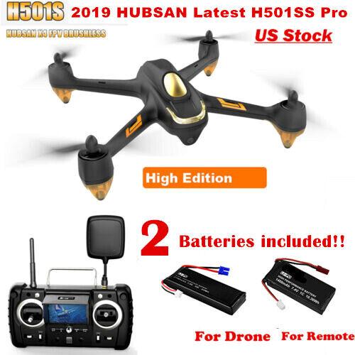 Hubsan  H501S Pro X4 5.8G FPV Headless RC Quadcopter 1080P Follow Me Altitude RTF  articoli promozionali