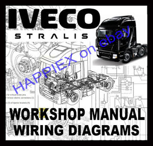 IVECO STRALIS AT/AD TRUCKS WORKSHOP SERVICE REPAIR MANUAL & WIRING ...