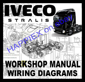 iveco stralis at ad trucks workshop service repair manual wiring rh ebay co uk 96 Chevy Truck Wiring Diagram 96 Chevy Truck Wiring Diagram
