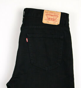 Levi's Strauss & Co Hommes 752 Slim Jeans Jambe Droite Taille W36 L30 APZ703