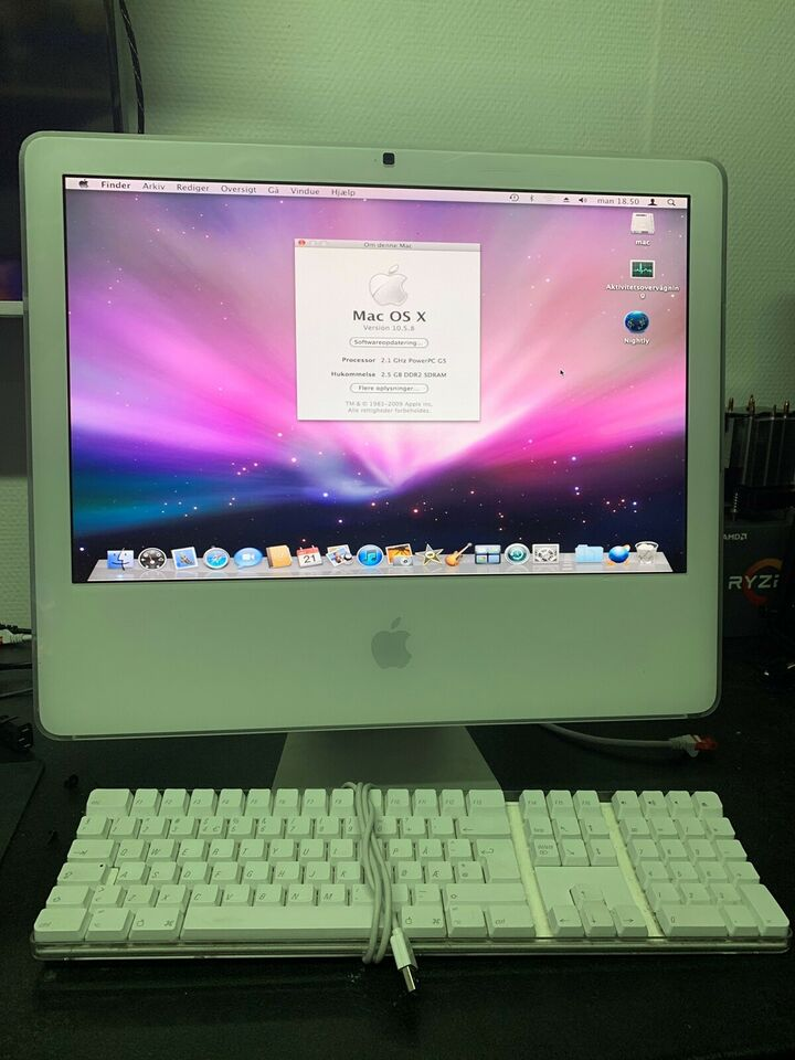 iMac, 2,1 GHz, 2 GB ram