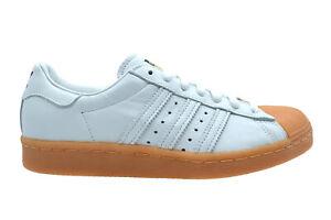the best attitude 9699a f18b8 Details zu Adidas Superstar 80s DLX white gold metallic Sneaker Schuhe weiß  S75830