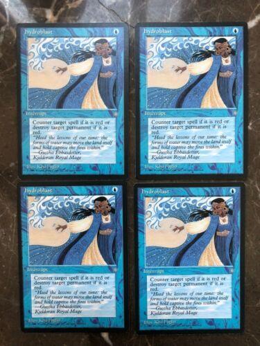 4 Hydroblast ~ Blue Ice Age Mtg Magic Common x4 M//NM