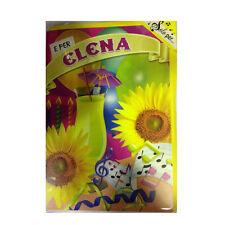 Tarjeta de cumpleaños musical genérico canta nome ELENA y FELIZ En TE