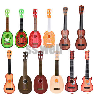 Children Kids Learn Guitar Ukulele Mini Fruit Classical Musical Instruments Toys