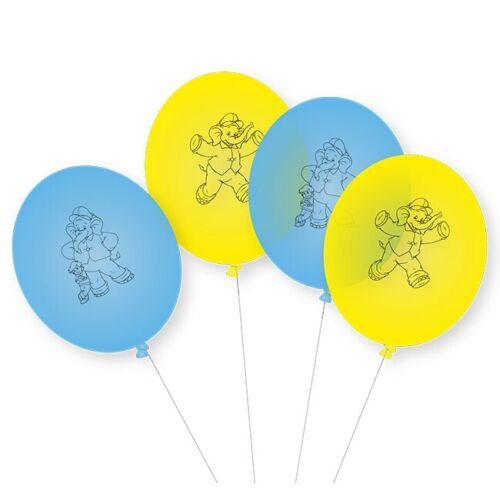 "Balloons /""Benjamin the elephant/"" 8er Pack"