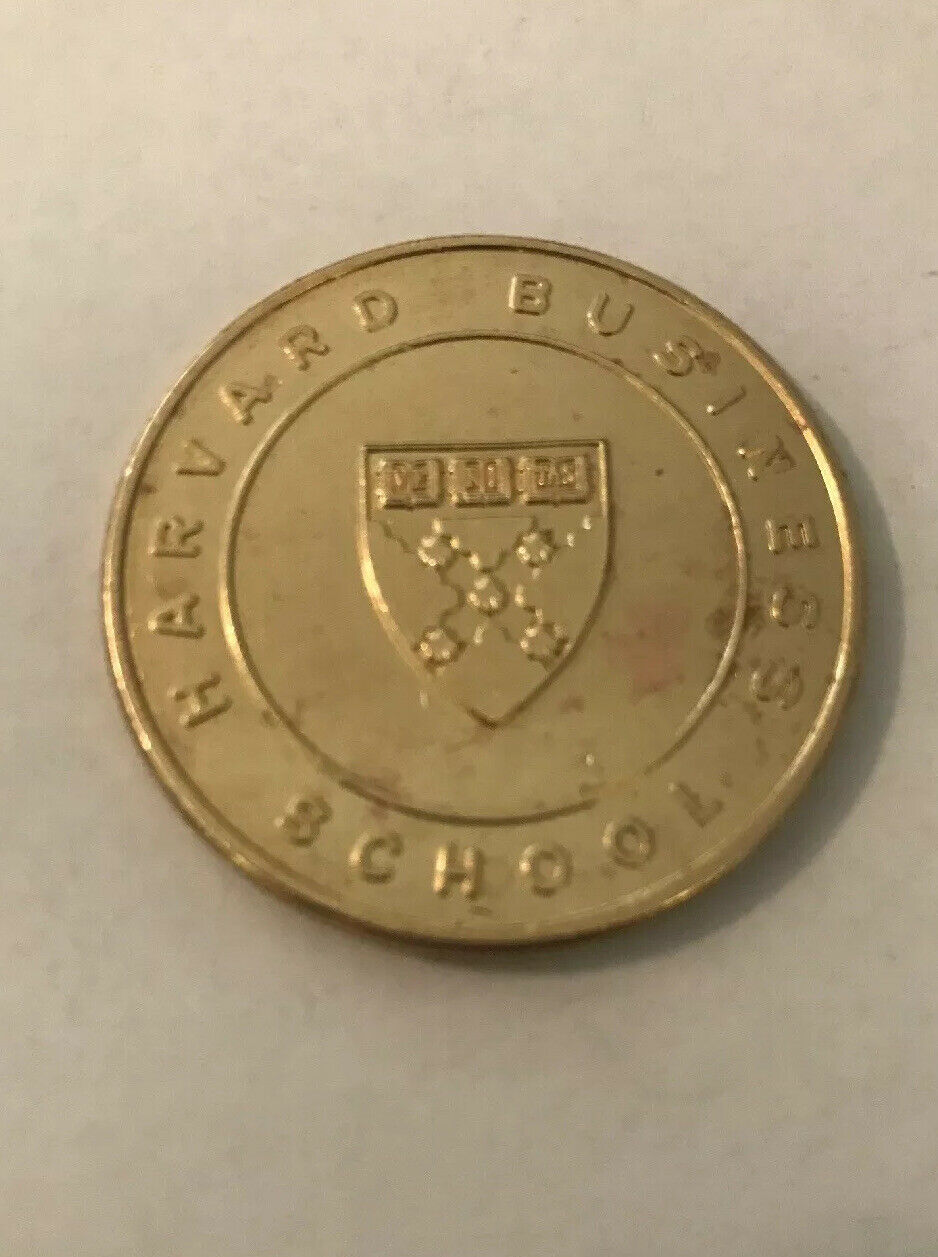 Harvard Business School Coin (vintage & rare) E17 2