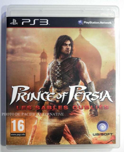jeu PRINCE OF PERSIA LES SABLES OUBLIES pour PLAYSTATION 3 game francais PS3