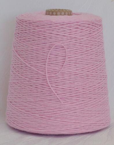 kirschblüte 60/% Baumwolle 24€ //Kg rosa Wolle zum Stricken Garn Lineapiu LL 180m