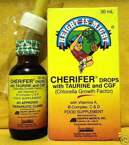 Buy Cherifer Child Baby Todlder Drops Chlorella Growth