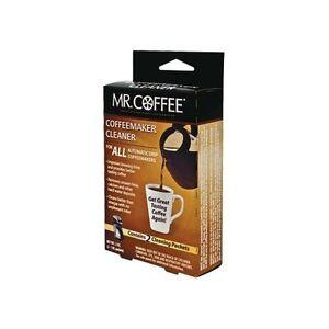 Descaler For Coffee Maker : Mr Coffee Auto Drip Coffee Maker Cleaner / Descaler - 9pk eBay