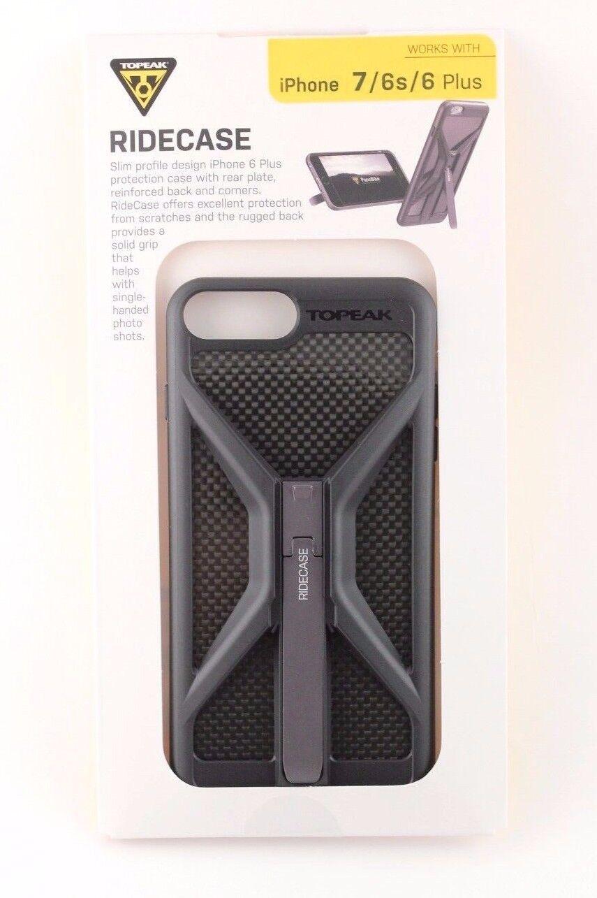 quality design 5862a 5f7fc Topeak RideCase iPhone 8 / 7 / 6 / 6s Plus Phone Black Case TT9852B (Case  only)