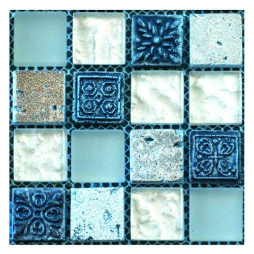 6//10//24pcs Waterproof Tiles Mosaic Art Wall Stickers Kitchen Bathroom Adhesive