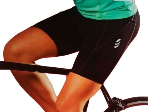 CRIVIT Femmes Vélo//Vélo Short//Cuissard cycliste court noir