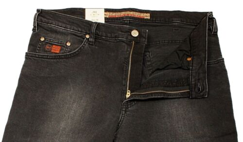 REVILS JEANS 302 V83//1-8 Stretch in black used schwarz Herrenjeans