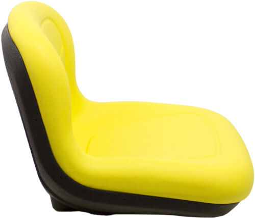 """Milsco XB150 Yellow Vinyl Seat 15.5/"""" Tall with Multiple Mounting"""