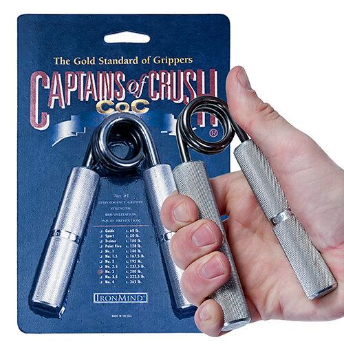 5 Ironmind Kapitän von Crush Crush von Coc Gripper Alle Größen c89889