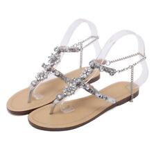 b835ddf12a94c item 4 Women Sandals Summer Bling Rhinestone Ankle Strap Peep Toe Sandal  Flat Shoes -Women Sandals Summer Bling Rhinestone Ankle Strap Peep Toe  Sandal Flat ...