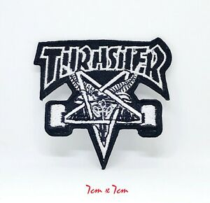 New Thrasher logo Iron on or Sew on Embroidered Patch #111B