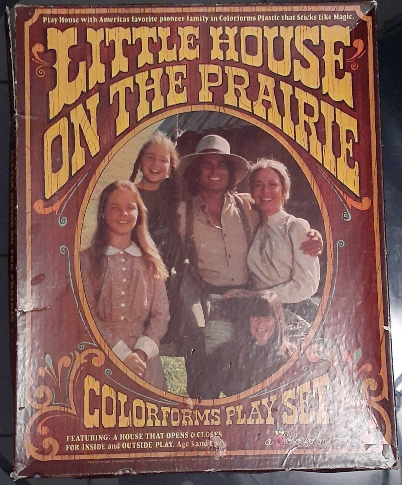Little House on the Prairie Colorforms - 5 Awesome Things on eBay