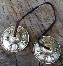 HAND MADE SPIRITUAL TIBETAN TINGSHA TIMSHA BELLS MEDITIATION BUDDIST CYMBALS