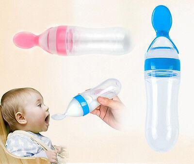 Baby Teaspoon Bottle Blue Pink