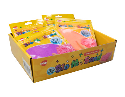 Slow Motion Sand Kids Art Craft Activity DIY Decor Kit Stress Relief Toy Game UK