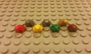 LEGO LOT OF 100 NEW REDDISH BROWN FROGS TOADS MINIFIGURE PETS PIECES