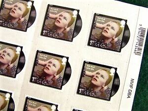 Details About New David Bowie Royal Mail 2017 Hunky Dory First Class Stamps Choose Quantity