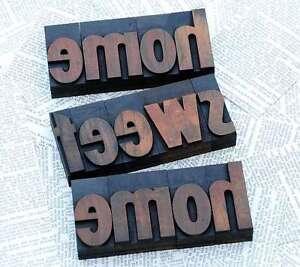 """""""HOME SWEET HOME"""" Holzbuchstaben Plakatlettern Buchstaben Lettern Türschild - Deutschland - """"HOME SWEET HOME"""" Holzbuchstaben Plakatlettern Buchstaben Lettern Türschild - Deutschland"""