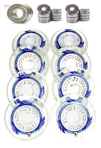 4-8er Set Kryptonics Adrenaline 80mm Rouleau Roller Skates + Op Roulements Abec Une Grande VariéTé De ModèLes