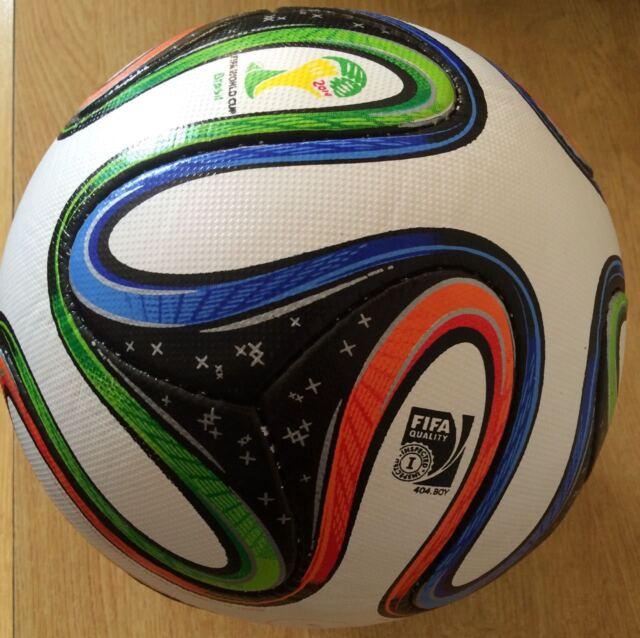on sale 2bc12 8b695 ADIDAS BRAZUCA SOCCER MATCH BALL FIFA WORLD CUP 2014 REPLICA SIZE 5