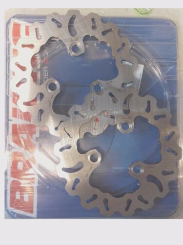 Paire de disques de frein AVANT pour quad Suzuki LTZ 250 02//06