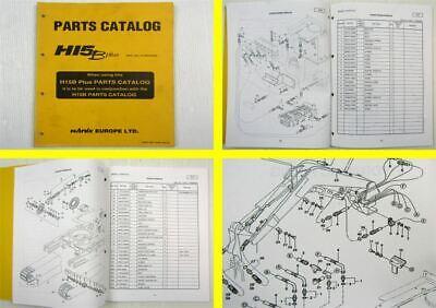 Stetig Original Hanix H15b Plus Excavator Parts Catalog Spare Parts List December 1997 Auf Der Ganzen Welt Verteilt Werden Anleitungen & Handbücher