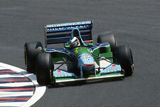 Michael SCHUMACHER. Benetton. GP Japan, 1994. Vintage 35mm F1 slide/diapo. S323