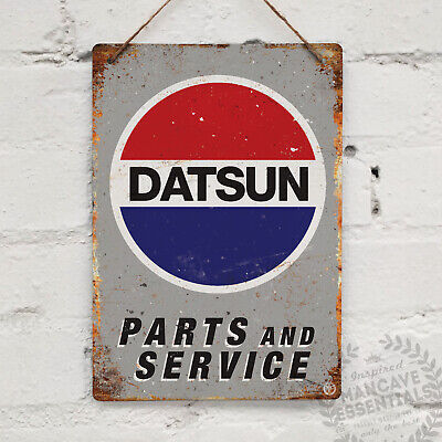 SUZUKI Parts and Service Vintage Metal Wall Sign Plaque Retro Garage Shed Race