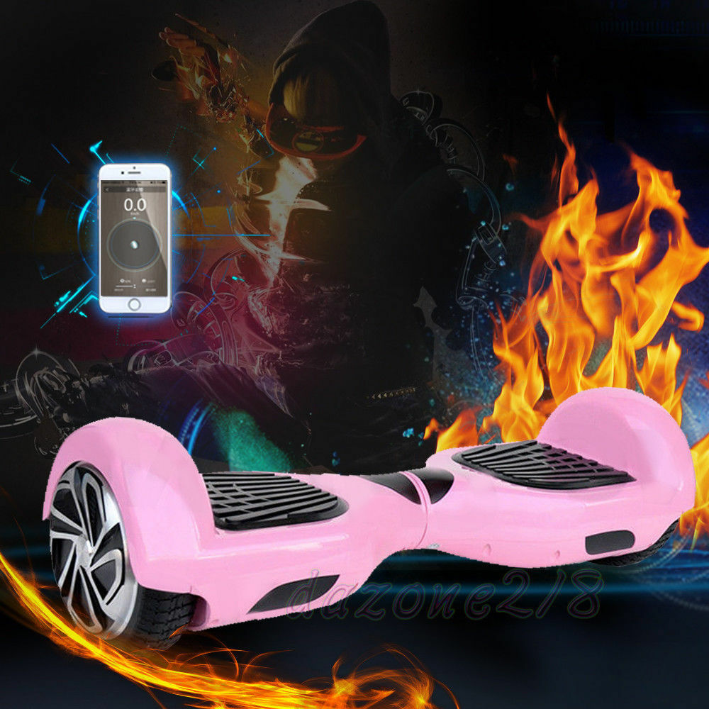 blueeetooth Speaker Hoverboard LED Self Balancing Scooter 6.5  UL2272 Certified