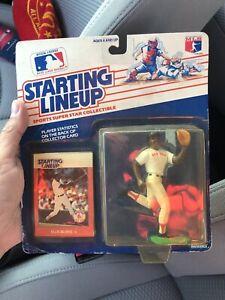 1988 Kenner Starting Lineup Ellis Burks MLB Baseball Figurine Boston Red Sox