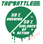 Knowing-Half-The-Battle-Violence-Action-Truck-Vinyl-Decal-Window-Sticker-Car thumbnail 3