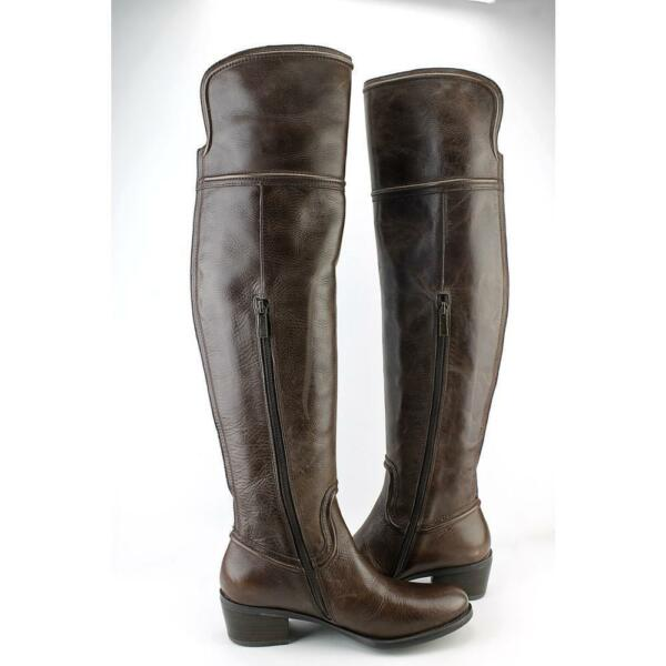 db36eaceba4 Vince Camuto Baldwin Women US 7.5 Brown Over The Knee Boot Blemish 11125  for sale online